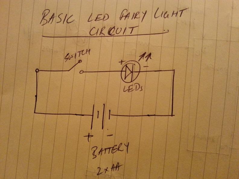 Basic fairy light circuit